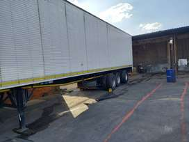 Tri-axle closed body trailer for sale