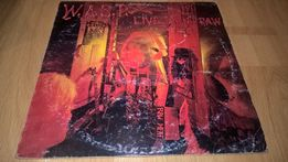 W.A.S.P. (Live...In The Raw) 1987. Пластинка.