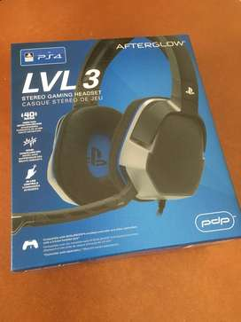 PDP: Afterglow LVL 3 Stereo Headset (PS4)