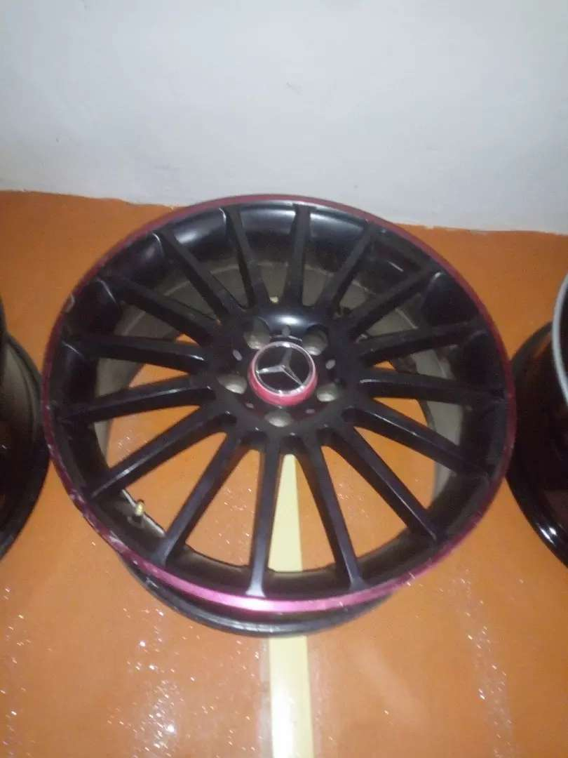 Alloyed rims for Benz size 18 0