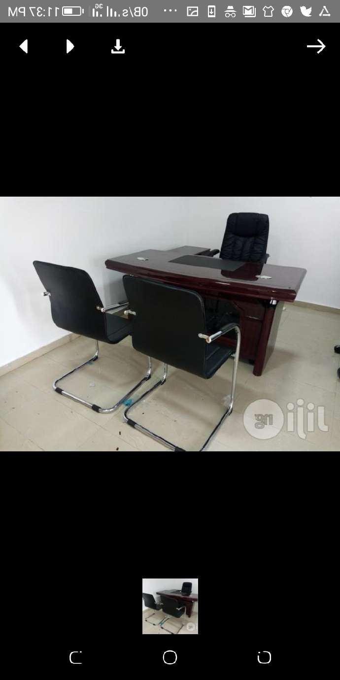 OFFICE FURNITURE SET UP with 2 Visitors Chair,selling fast 0