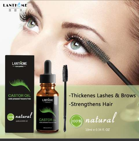 100% Natural Castor Oil For Thicker Eyelashes and Brows 0
