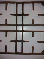 Чугунная решетка на газовую плиту 45.5х46 см толщина 1,5-2 см