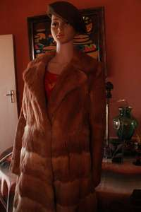 Real Vintage 1970's UK Coney Fur Coat (Full length) - A rare find! 0