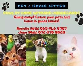 The Pet Sitters Witbank / Middelburg