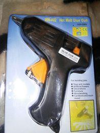Клеевой пистолет (термопистолет) 20 Вт новый клей силиконовый