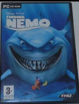 Disney Pixar Finding Nemo Pc CD-ROM Game