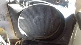 Radiator Ford Ranger WL with cowling