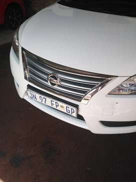 Immaculate clean, 2014 Nissan Sentra, very low mileage, low on petrol