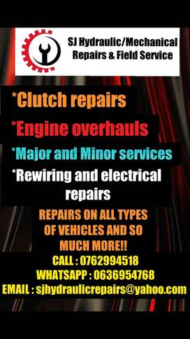 MECHANICAL REPAIRS AND FIELD SERVICE