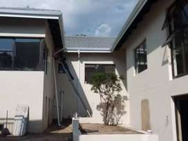 Seamless & stainless box gutters pillar covering painting etc
