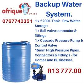 Backup Water System
