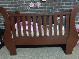 Sleigh cot for sale!