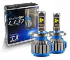 Продам светодиодные лампы TURBO LED H4 H1 H3 H7HI LOW 6000K