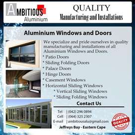 Aluminium Door and Window Manufacturing and Installations