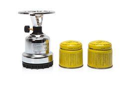 KUCHENKA TURYSTYCZNA GAZOWA PLASTIK +2 naboje 190g cała z metalu polec