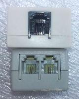 Cплиттер ADSL с телефонным кабелем к модему, телефону