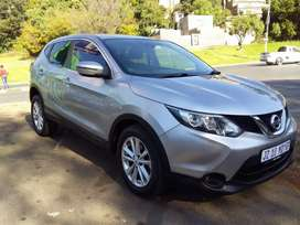 2016 Nissan Qashqai 1.2 Automatic leather seat