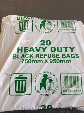 Heavy Duty Refuse bags NOW ONLY R25