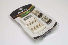 Аккумуляторы Jiabao AA 4 шт + зарядное устройство Jiabao JB-212