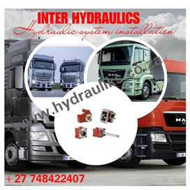 DISCOUNTED PRICES ON HYDRAULIC SYSTEM INSTALLATION ON TRUCKS
