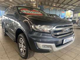 2016 Ford Everest 3.2 TDCi XLT 4x4 Auto for sale