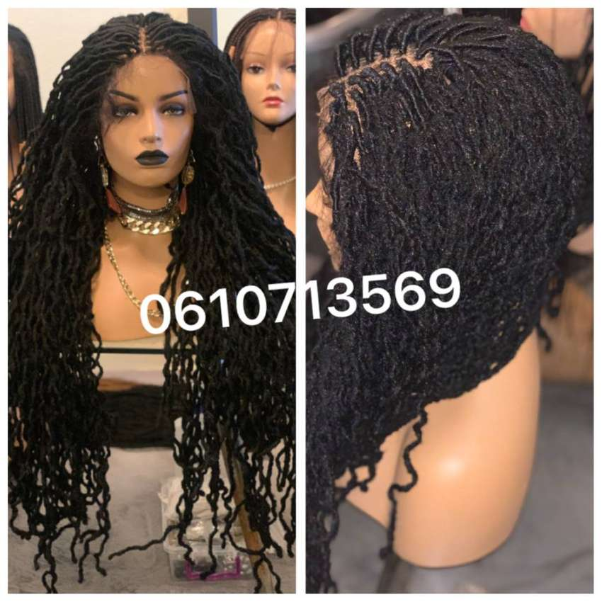 THE MOST REALISTIC DREADLOCKS LACE FRONT WIG