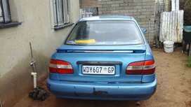 Hi, am selling my Toyota Colora 1.3