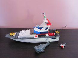 klocki lego jacht motorowy 5-12 lat instrukcja+ opakowanie