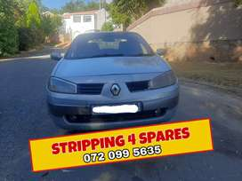 Renault Megane Stripping For Parts