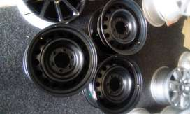 """16"""" and 17"""" steel rims for Ford ranger and Toyota Hillix/Fortuner for"""