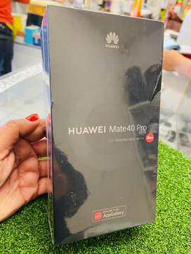 SEALED and BRAND NEW HUAWEI MATE 40 PRO 256GB for sale WITH a 12 Month