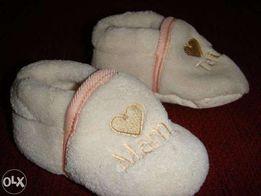 Пинетки.Обувь для самых маленьких.Mama.Tata.Носки-в подарок.