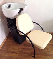 Парикмахерская мойка с креслом (+комплектующее)