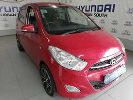 Red Bomber! Sunroof + Leather + Mags. i10 1.25 Glide for only R2900pm