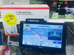 "GPS навигатор 5"" 7"" дюймов для грузовых авто Европа 2019"