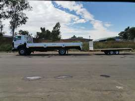 Any removal local. Truck and trailer available for hire R1200 per load