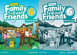 Family and Friends 6: ClassBook + Workbook + CD 2-nd edition