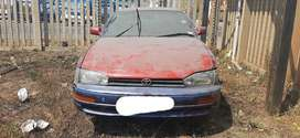 Toyota camry 2.2L 5S stripping for spares