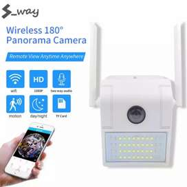 Brand new Wifi Security Camera wall mount with light
