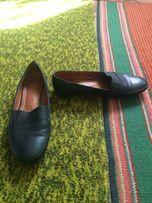 Кожаные туфли,балетки