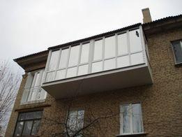Балконы и лоджии: расширение, утепление, обшивка, остекление