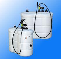 Zbiornik dwupłaszczowy na olej napędowy, opałowy-1500 l z atestem CE