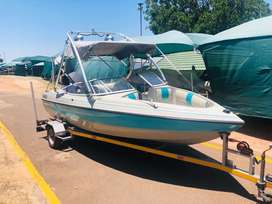 Raven Elite 18ft Johnson 150 Hp