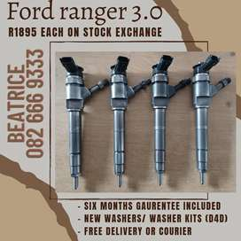 Ford ranger 3.0 injectors for sale