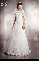 Piękna suknia ślubna firmy Agnes