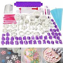 Формы для выпекания тортов, печенья. 94шт в наборе))