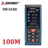 Sndway SW-S100 (100 метров) Лазерная рулетка/лазерный дальномер