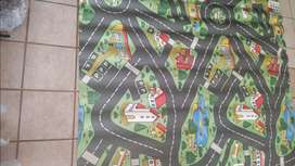 Toy car carpet