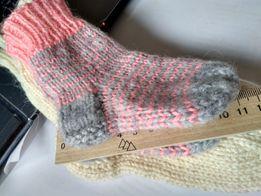 новые вязаные носки 11 см